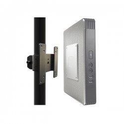 NewStar THINCLIENT-05 - Componente de montagem (alça) para cliente fino - preto - montagem em poste
