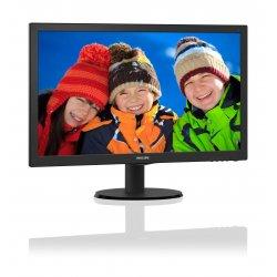 "Philips V-line 223V5LHSB2 - Monitor LED - 22"" (21.5"" visível) - 1920 x 1080 Full HD (1080p) - 200 cd/m² - 600:1 - 5 ms - HDMI,"