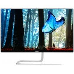 "AOC Style I2481FXH - Monitor LCD - 23.8"" - 1920 x 1080 Full HD (1080p) - AH-IPS - 250 cd/m² - 1000:1 - 4 ms - 2xHDMI, VGA - pre"