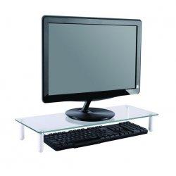 NewStar NSMONITOR10 - Plataforma para Monitor - vidro - transparente