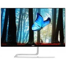 "AOC Style I2281FWH - Monitor LCD - 21.5"" - 1920 x 1080 Full HD (1080p) - AH-IPS - 250 cd/m² - 1000:1 - 4 ms - HDMI, VGA - preto"