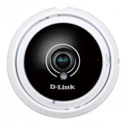 D-Link DCS 4622 - Câmara de vigilância de rede - redoma - a cores (Dia&Noite) - 3 MP - 1920 x 1536 - áudio - LAN 10/100 - MJPEG