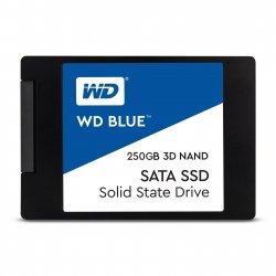 "WD Blue 3D NAND SATA SSD WDS250G2B0A - Unidade de estado sólido - 250 GB - interna - 2.5"" - SATA 6Gb/s"