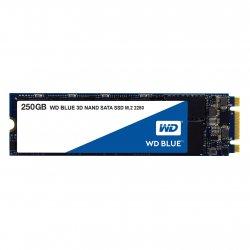 WD Blue 3D NAND SATA SSD WDS250G2B0B - Unidade de estado sólido - 250 GB - interna - M.2 2280 - SATA 6Gb/s