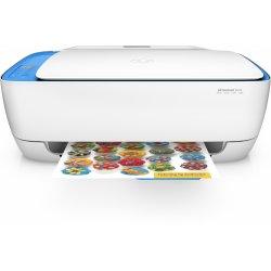 HP Deskjet 3639 All-in-One - Impressora multi-funções - a cores - jacto de tinta - 216 x 297 mm (original) - A4/Legal (media) -