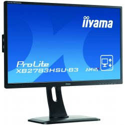 "iiyama ProLite XB2783HSU-B3 - Monitor LED - 27"" - 1920 x 1080 Full HD (1080p) - A-MVA+ - 300 cd/m² - 3000:1 - 4 ms - HDMI, VGA,"