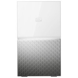 WD My Cloud Home Duo WDBMUT0060JWT - Dispositivo de armazenamento pessoal em nuvem - 6 TB - HDD 3 TB x 2 - RAID (expansão de di