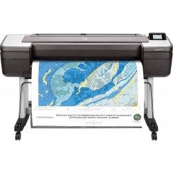 """HP DesignJet T1700dr - 44"""" impressora de grande formato - a cores - jacto de tinta - 1118 x 1676 mm - 2400 x 1200 ppp - até 0.5"""