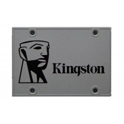 "Kingston UV500 - Unidade de estado sólido - encriptado - 120 GB - interna - 2.5"" - SATA 6Gb/s - 256-bits AES - Self-Encrypting"