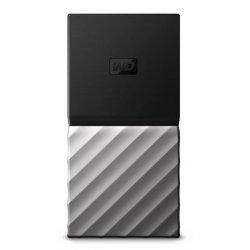 WD My Passport SSD WDBKVX0010PSL - Unidade de estado sólido - encriptado - 1024 GB - externa (portátil) - USB 3.1 Gen 2 (USB C