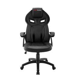 Mars Gaming MGC118 - Cadeira - descansos de braços - em forma de T - inclinação - giratório - nylon, poliuretano, PVC, couro ar