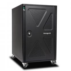 Kensington AC12 Security Charging Cabinet - Unidade gabinete para 12 tablets / portáteis - bloqueável - preto