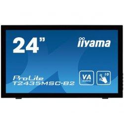 "iiyama ProLite T2435MSC-B2 - Monitor LED - 24"" (23.6"" visível) - ecrã de toque - 1920 x 1080 Full HD (1080p) - VA - 250 cd/m² -"