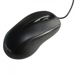 Rato NB/PC Optico USB c/scroll Basic Preto