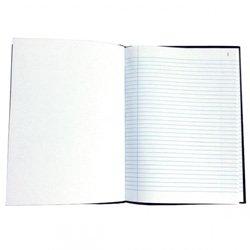 Livro Pautado 330x135mm 96 Folhas
