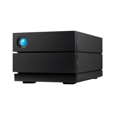 LaCie 2big RAID STHJ8000800 - Matriz de disco rígido - 8 TB - 2 baias - HDD 4 TB x 2 - USB 3.1 Gen 2 (externo) - com Plano de S