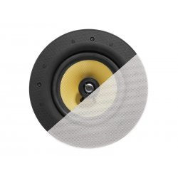 "VISION Professional Pair 6.5"" Ceiling Speakers - 60 Watt power handling - 2-way - magnetic grille - Kevlar woofer and 0.75"" Tit"