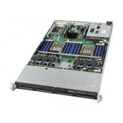 "Intel Server System R1304WF0YSR - Servidor - montável em bastidor - 1U - 2-way - RAM 0 GB - SATA - hot-swap (permuta) 2.5"", 3.5"