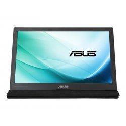 """ASUS MB169C+ - Monitor LED - 15.6"""" - portátil - 1920 x 1080 Full HD (1080p) - IPS - 220 cd/m² - 5 ms - USB - preto, prata"""