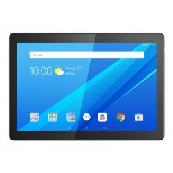"""Lenovo Tab M10 ZA48 - Tablet - Android 8.0 (Oreo) - 32 GB Embedded Multi-Chip Package - 10.1"""" IPS (1920 x 1200) - slot microSD"""