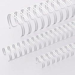 Argolas Metalicas Encadernar Passo 3:1 06mm Cx100 Branco