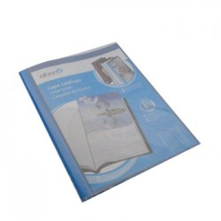 Pasta c/10 Bolsas Catalogo Azul A4