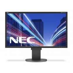 "NEC MultiSync EA223WM - Monitor LED - 22"" - 1680 x 1050 HD 720p - TN - 250 cd/m² - 1000:1 - 5 ms - DVI-D, VGA, DisplayPort - al"