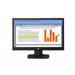 "HP V194 - Monitor LED - 18.5"" (18.5"" visível) - 1366 x 768 - TN - 200 cd/m² - 600:1 - 5 ms - VGA - preto"