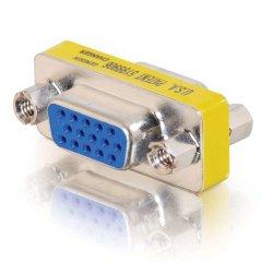 C2G - Comutador de género de VGA - HD-15 (VGA) (F) para HD-15 (VGA) (F)