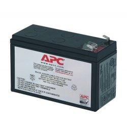 APC Replacement Battery Cartridge 106 - Bateria UPS - 1 x ácido de chumbo - preto - para P/N: BE400-CP, BE400-GR, BE400-IT, BE