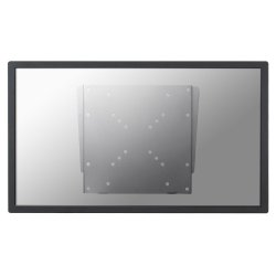 "NewStar TV/Monitor Ultrathin Wall Mount (fixed) FPMA-W110 - Montagem na parede para visor LCD - prata - tamanho de tela: 10""-40"