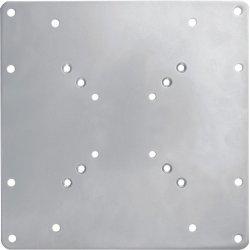 """NewStar FPMA-VESA200 - Componente de montagem (placa adaptadora) para visor LCD - prata - tamanho de tela: 22""""-42"""""""