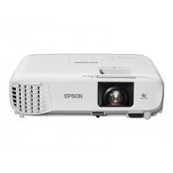 Epson EB-S39 - 3 projetores LCD - portátil - 3300 lumens (branco) - 3300 lumens (cor) - SVGA (800 x 600) - 4:3