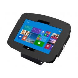 Compulocks Space 45° Surface Pro 3/4 / Galaxy TabPro S Wall Mount / Counter Top Kiosk Black - Kit de montagem (confinamento ant
