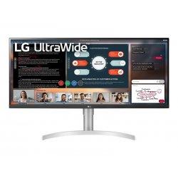 "LG 34WN650-W - Monitor LED - 34"" - 2560 x 1080 UWFHD @ 75 Hz - IPS - 400 cd/m² - 1000:1 - 5 ms - 2xHDMI, DisplayPort - altifala"