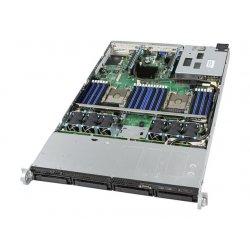 Intel Server System R1304WFTYSR - Servidor - montável em bastidor - 1U - 2-way - sem CPU - RAM 0 GB - SATA - hot-swap (permuta)