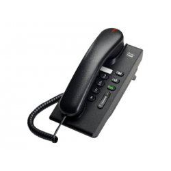 Cisco Unified IP Phone 6901 Standard - Telefone VoIP - SCCP - carvão vegetal
