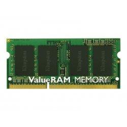 Kingston ValueRAM - DDR3 - módulo - 4 GB - SO DIMM 204-pinos - 1600 MHz / PC3-12800 - CL11 - 1.5 V - unbuffered - sem ECC