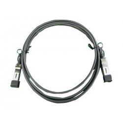 Dell - Cabo de rede - SFP+ para SFP+ - 1 m - para Brocade 6510, DCX 8510, Compellent FS8600, PowerConnect 62XX, 81XX, M8024, Po