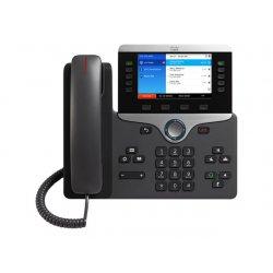 Cisco IP Phone 8851 - Telefone VoIP - SIP, RTCP, RTP, SRTP, SDP - 5 linhas