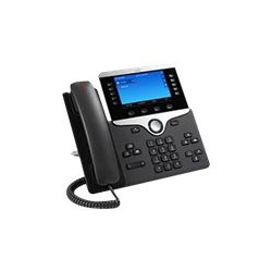 Cisco IP Phone 8841 - Telefone VoIP - SIP, RTCP, RTP, SRTP, SDP - 5 linhas