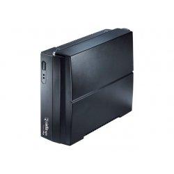 Riello UPS Protect Plus PRP 850 - UPS - AC 220-240 V - 480 Watt - 850 VA - conectores de saída: 2 - preto