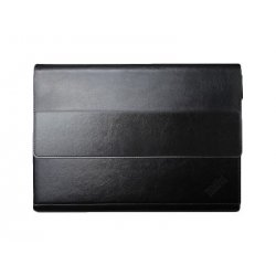 Lenovo - Capa protectora para tablet - Terylene, pele de poliuretano - preto texturizado - para ThinkPad X1 Tablet (1st Gen) 20