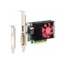 NVIDIA GeForce GT730 - Cartão gráfico - GF GT 730 - 2 GB DDR3 - PCIe x8 baixo perfil - DVI, DisplayPort - para HP 280 G4 (micro