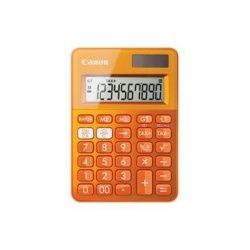 Canon LS-100K - Calculadora de secretária - 10 dígitos - Painel solar, bateria - laranja metálico