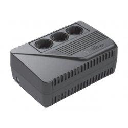 Riello UPS iPlug SE IPE 600 - UPS - AC 230 V - 600 VA - conectores de saída: 3 - Europa - preto
