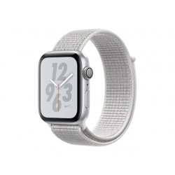 Apple 44mm Nike Sport Loop - Bracelete de relógio para relógio inteligente - 145-220 mm - branco cume - demo - para Watch (42 m