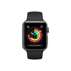 Apple Watch Series 3 (GPS) - 42 mm - alumínio cinzento espaço - relógio inteligente Com banda de desporto - fluoroelastómero -