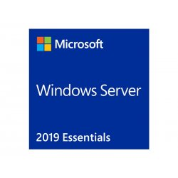 Microsoft Windows Server 2019 Essentials - Licença - 1 servidor (1-2 CPU) - OEM - DVD - 64-bit - Inglês