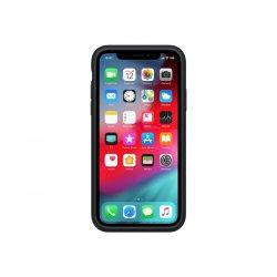 Apple Smart - Caixa de bateria para telemóvel - silicone - preto - para iPhone XR